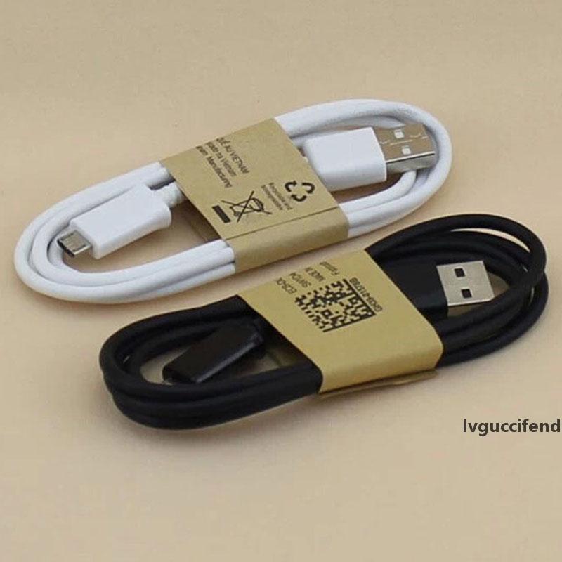 Mikro USB Kablosu 1m 3ft Sync Veri Şarj Samsung Galaxy S3 S4 BlackBerry Evrensel Çağrı Telefon Kabloları