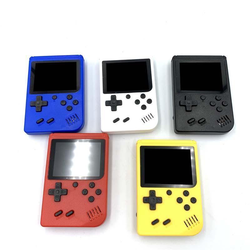 Mini la consola de videojuegos de mano puede almacenar 400 juegos portátil retro de 8 bits Modell AV Color LCD juego Jugador juego Regalo para niños
