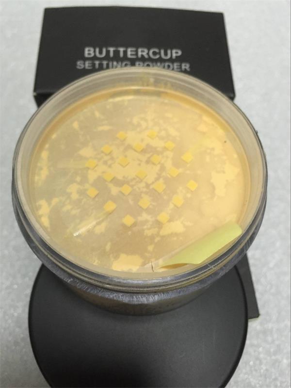 재고 ! 고품질 사차 미나리 컵 설정 분말 메이크업 사차 페이스 파우더 느슨한 파우더 DHL 무료 배송