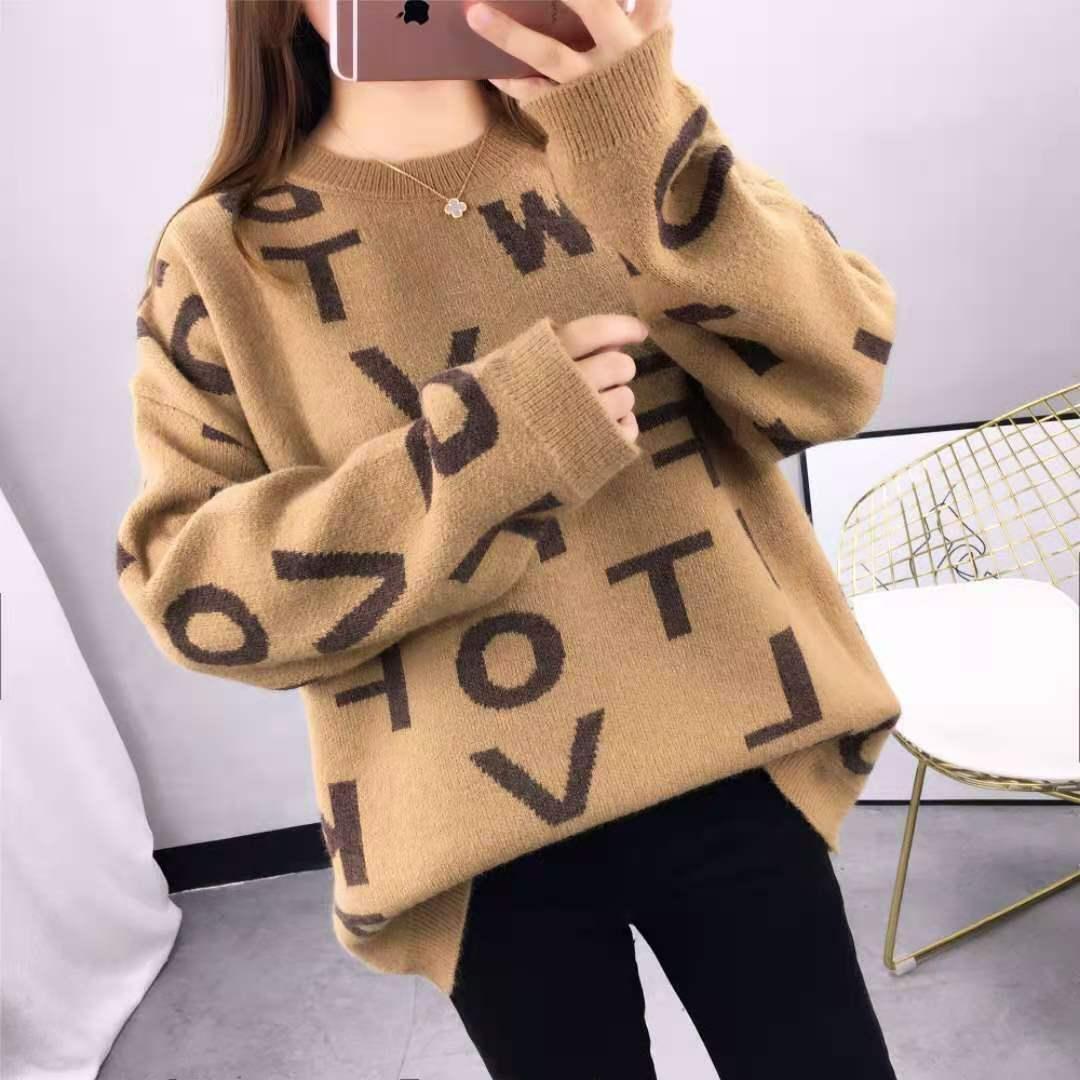 Damen Designer Kleidung 2020 Womens Pullover Hochwertige Marke Pullover Frauen Herbst Winter Frühling Außenträger Netto Prominente