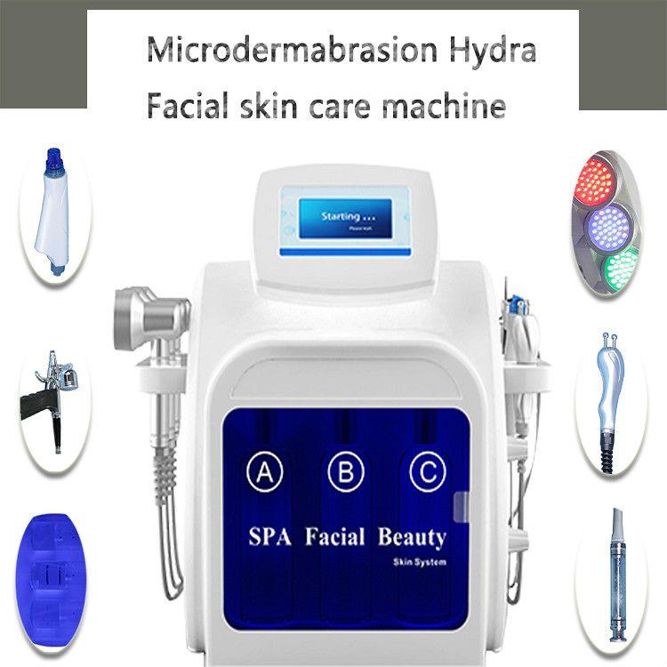 Portable Hydra Microdermabrasion Peel Facial Hydrafacial Machine/oxygen Spray Hydro Water Microdermabrasion Facial Care Machine