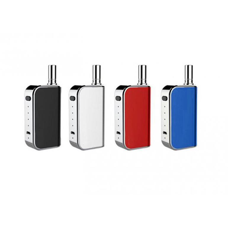 KOMODO C5 400MAH VAPE MOD BATERÍA PRECIO DE LA BATERÍA Micro USB Voltaje de carga Ajustable 510 Hilo Adaptador magnético para el cartucho de libertad