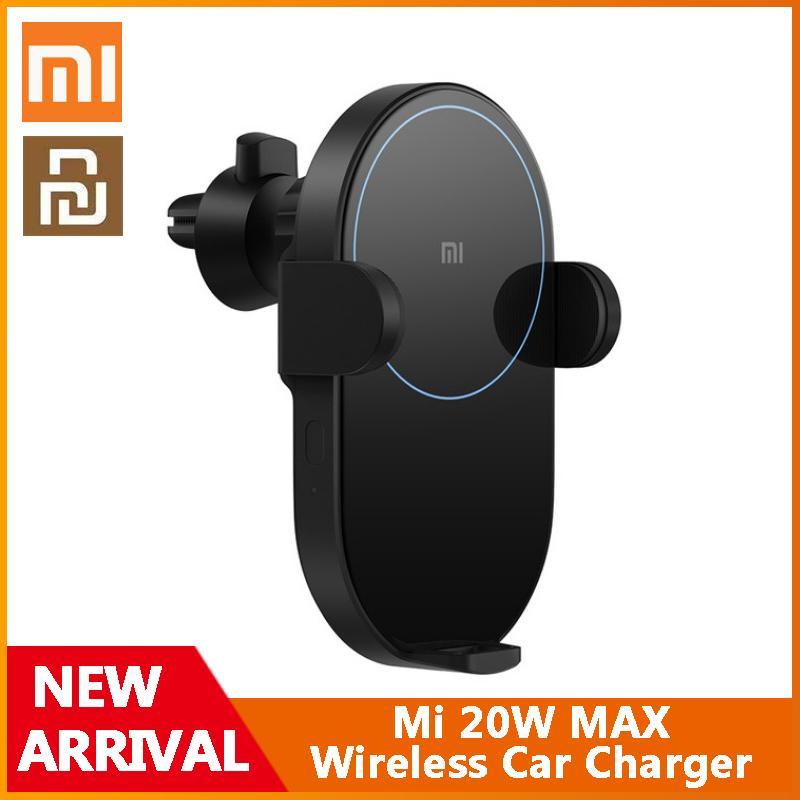 지능형 적외선 센서 빠른 충전 자동차 전화 홀더가있는 Xiaomi Youpin MI 20W 최대 무선 차량용 충전기