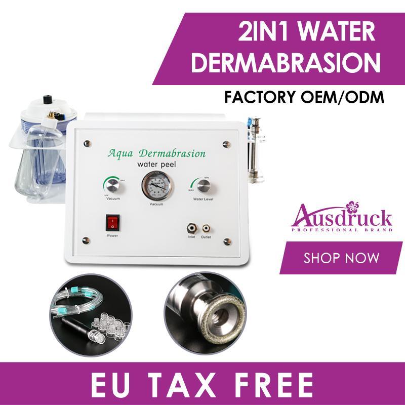 New Hydro Microdermoabrasão Aqua Dermaabrasão A água Descascando Rejuvenescimento Hydra Máquina Facial Diamante Peel Equipamento com CE