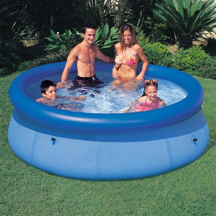 305 سنتيمتر 76 سنتيمتر الأزرق agp فوق الأرض حمام سباحة بركة الأسرة نفخ للبالغين أطفال الطفل أكوا الصيف المياه