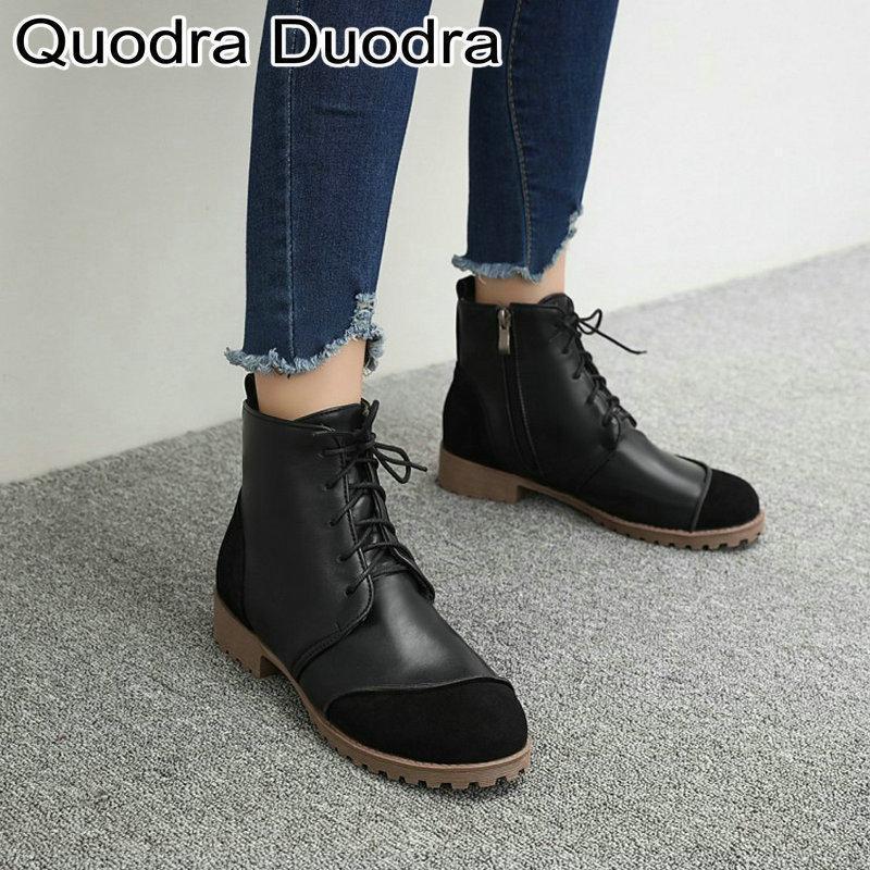 Nuova caviglia stivali invernali caldi peluche tonalità rotonde scarpe stivali con cerniera tacco spesso tacchi da donna a cavallo gregge tutto match platform chunky1