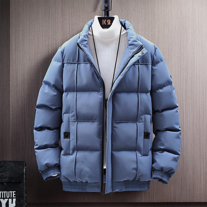 2020 Новая Осенью и Зимняя Одежда для отдыха Мужская Утолщенная Хлопковая мягкая хлебная куртка