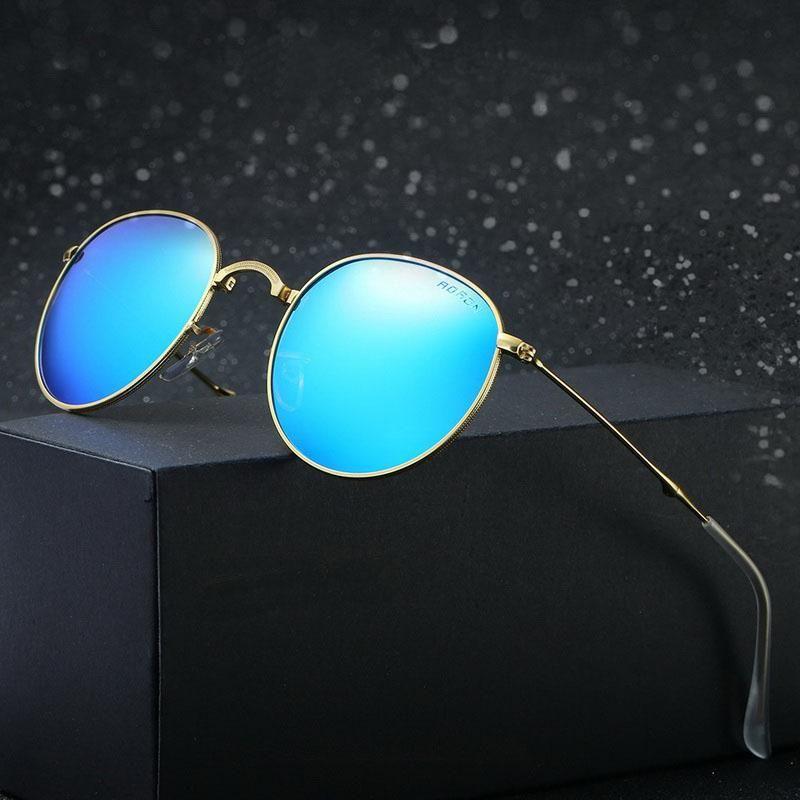 Hommes Nouvelles lunettes de soleil polarisées mode coloré et pliant lunettes métalliques polariseur femmes jyjewel pour wwkiv
