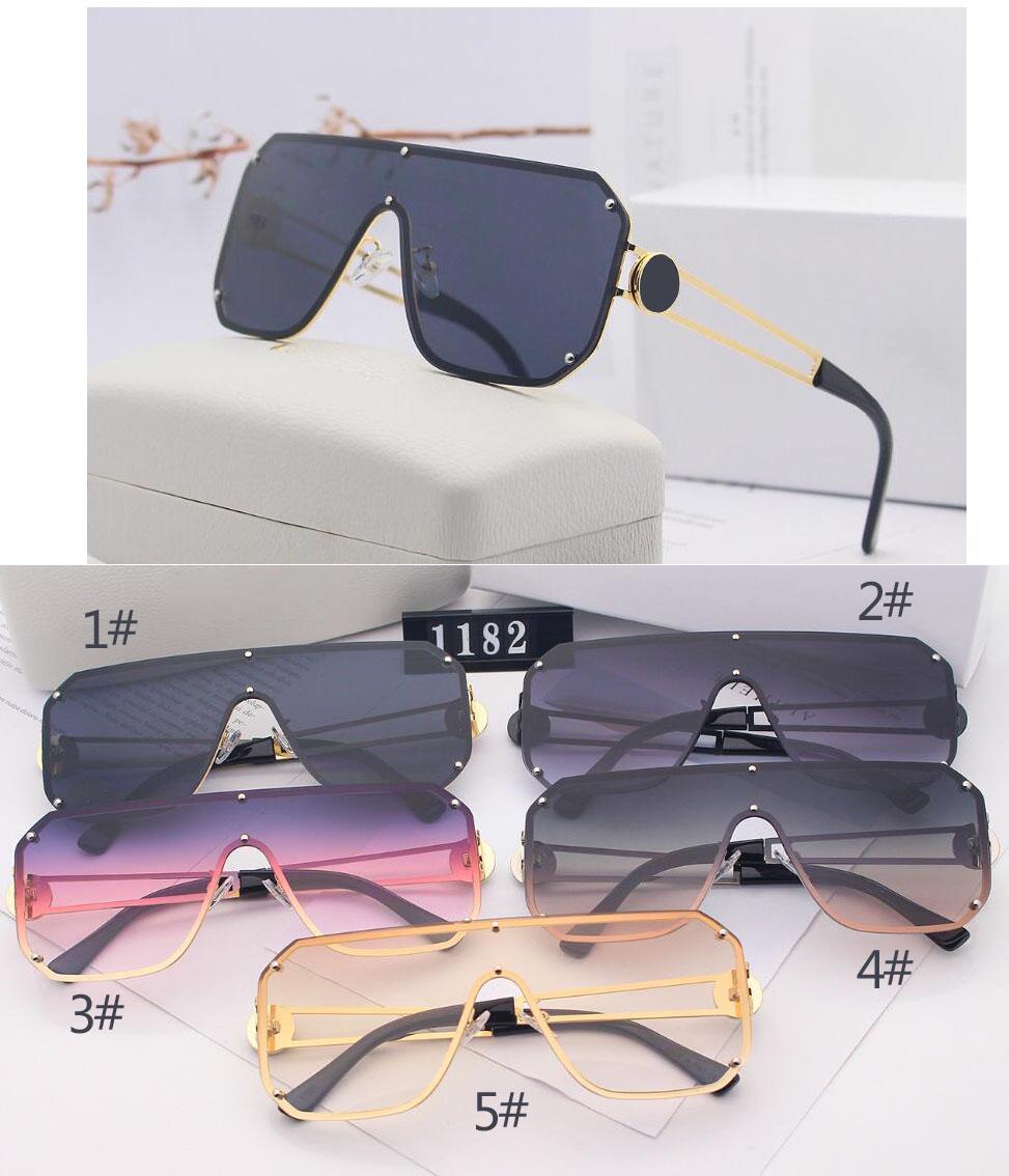 الصيف رجل جديد أزياء نظارات المرأة في الهواء الطلق التدرج القيادة نظارات الشمس بدون شفة شخصية نمط كبير النظارات الشمسية الرياح الشاطئ