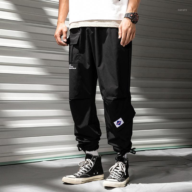 Pantaloni da uomo casual casual moda hallen allentato colore puro all'aperto tuta sportiva tuta lunga pantaloni pantaloni pantaloni hombre streetwear1