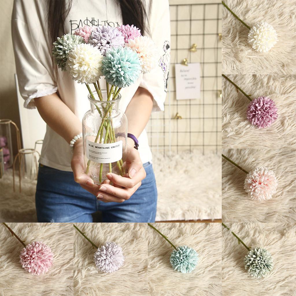 Multicolor Artificial Fake Plastic Plant Flowers Home Garden Wedding Decor sztuczne kwiaty flores artificial frete gratis