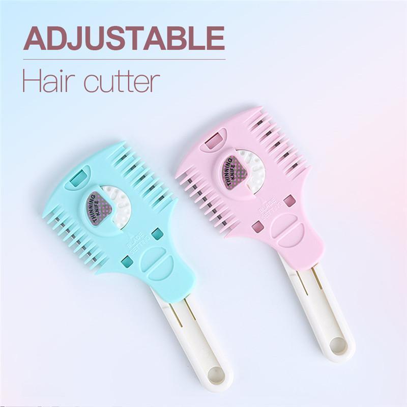 Unisex Hair Trimmer Cutter Razor Pettine Combo Calibrazione Blade Razor Barbiere Styling Hair Tacque Remover Manuale Clipper
