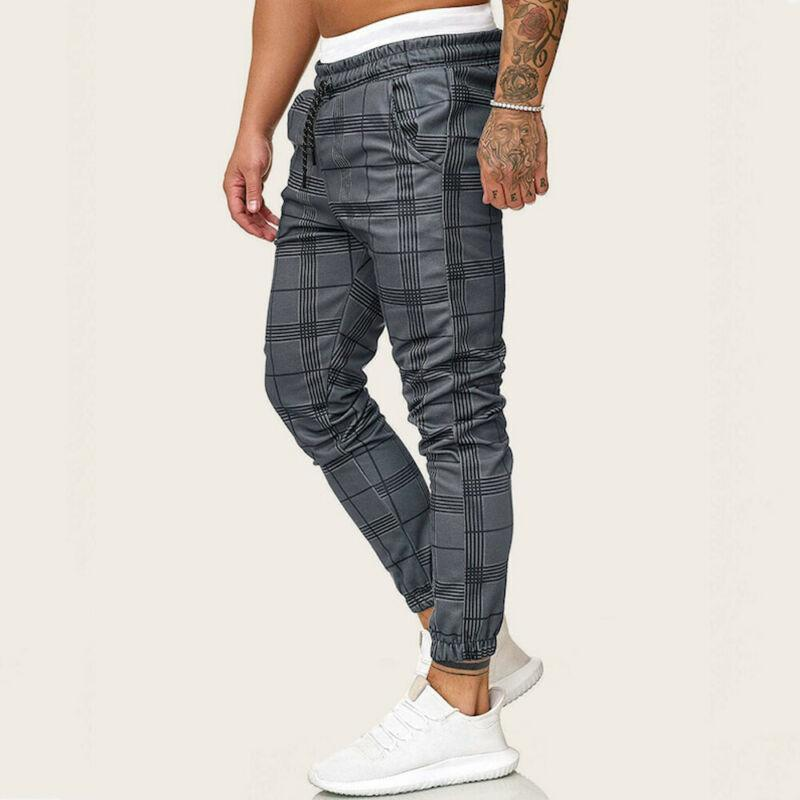 Slim Fit Courir Joggers Gym SweatPants Homme Boy Cool Outwear Trousses Trouses Hommes Casual Pantalon Sport Long Sport
