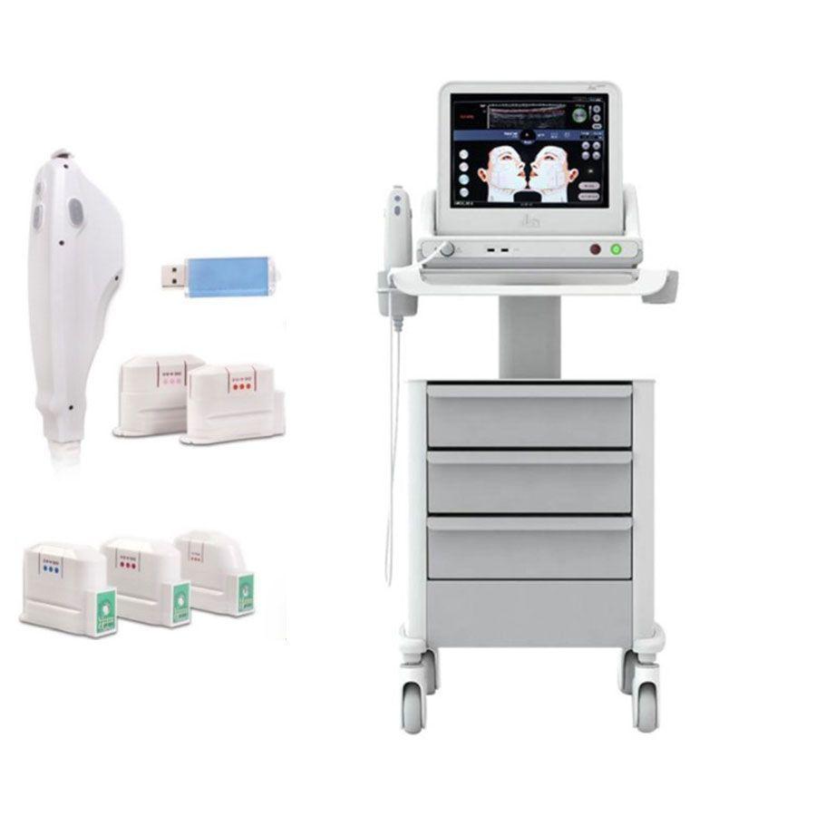 HIFU Makinesi Güzellik Ekipmanları 3D Ultrason Yüz Kaldırma Kırışıklık Sökücü Cilt Sıkılaştırma Vücut Zayıflama Güzellik Cihazı Satılık