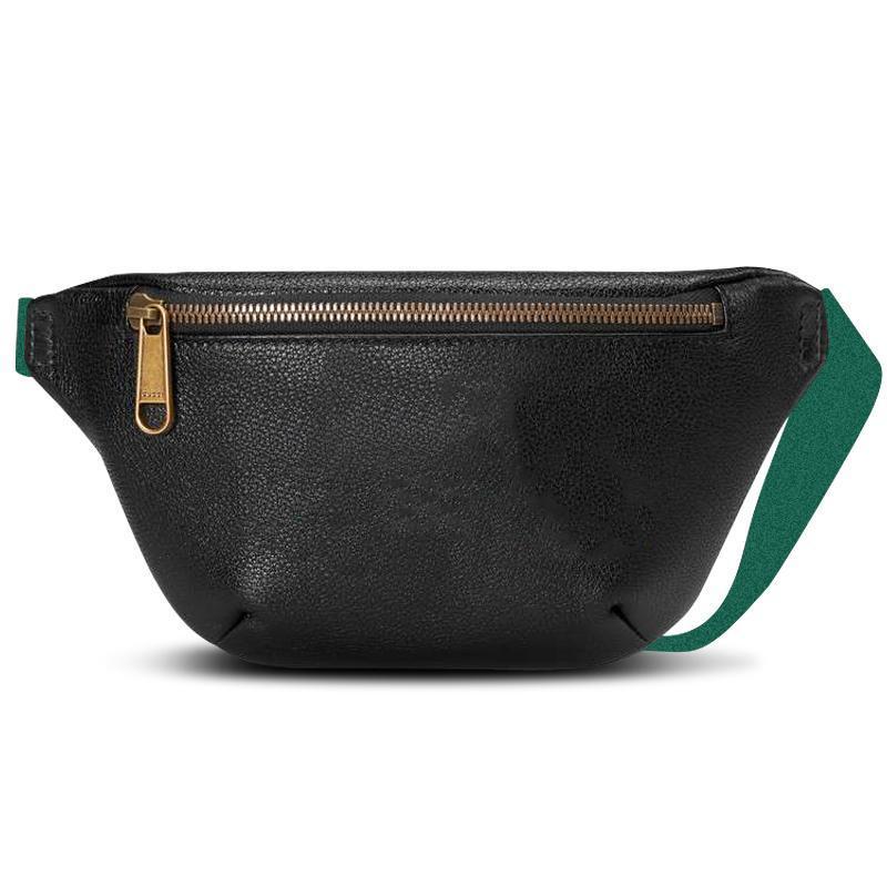 Bolsas bolsas de couro bolsas mulheres homens sacos de ombro saco de cinto mulheres bolsas de bolso saco de cintura de verão