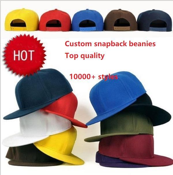 Toptan Açık Spor Snapbacks Şapka Özelleştirilmiş Tüm Takımlar Gömme Snapback Şapka Hip Hop Spor Şapka Mix Sipariş Moda Açık Kap 10000 + Şapkalar