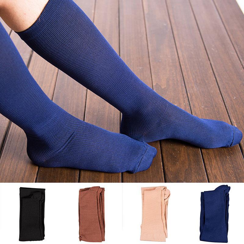 Sport Elastic Herren Strumpf Formale Tragen Anzug Kompression Strümpfe Atmungsaktiv Business Kleid Socken Knielange Lange Röhre Socke