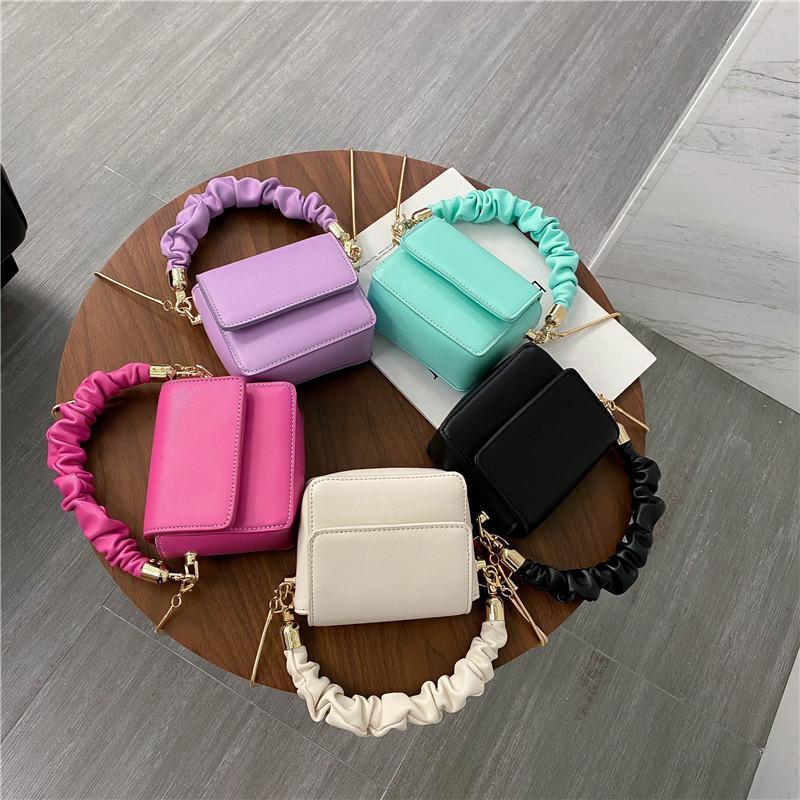 MINI PU Leather Shoulder Bags For Women 2020 Chain Design Luxury Hand Bag Female Travel And Purses Sac A Main Femme Q1230
