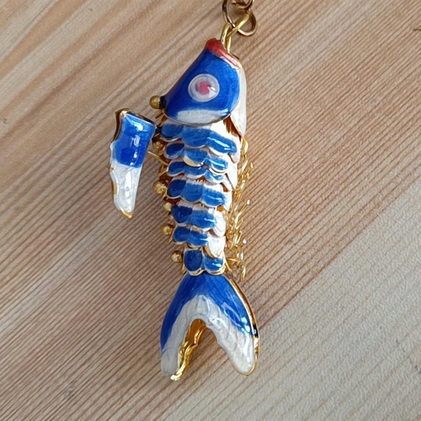 10 pz 3 dimensioni vivido swing carino smalto koi pesce fai da te charms per gioielli facendo fatti a mano carpa collana pendente collana braccialetto orecchini orecchini accessori