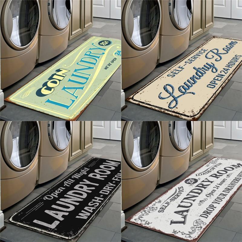 Rutschfeste Bodenmatten Gelb schwarz Badezimmer Balkon Waschküche Muster Teppich Home Decor Supply Neue Muster 16xk2 J2