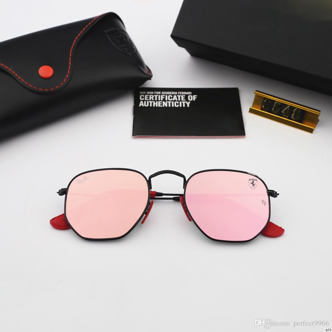 Occhiali da sole esagonali Fashion Manwonna Sunglass Ray Sunglasses Ben Sunglasses UV400 Protezione Top Quality 3548nm