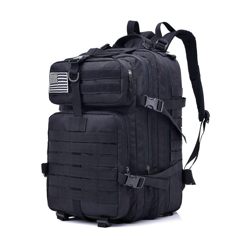 Çok fonksiyonlu açık spor sırt çantası büyük kapasiteli erkek tırmanma çantası taktik kamuflaj
