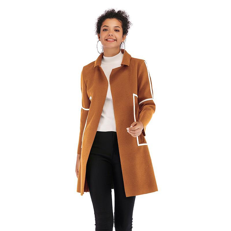 Kadın Kış Uzun Ceket, Aşağı Ceket Z1211