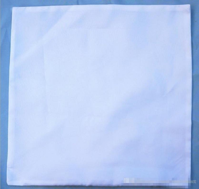 sublimation blank peach skin pillow case hot transfer printing blank white peach flannelette pillow cases consumables HHE4124