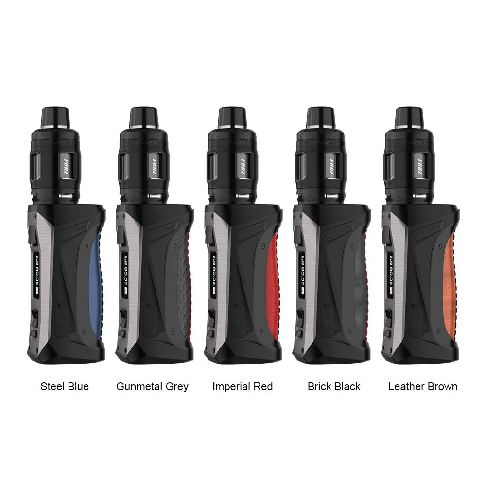 Vaporesso FORZ TX80 Kit 80W With 4.5ml FORZ TANK 25 18650 TX80 Mod with GTR 0.15ohm/0.4ohm Mesh Coil 100% electronic cigarette