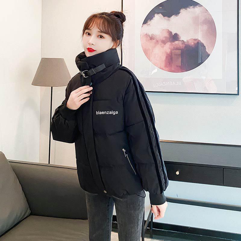 Para baixo vestido de inverno 2020 novo estudante solto coreano pão algodão acolchoado feminino casaco espessado curto Q1