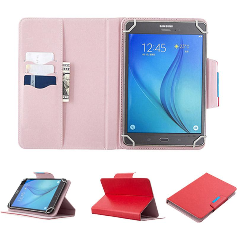 7 8 10 inch Multi-color Leather Case Flip Cover Built-in Card Buckled Universal Leather Tablet Case for Tablet PC