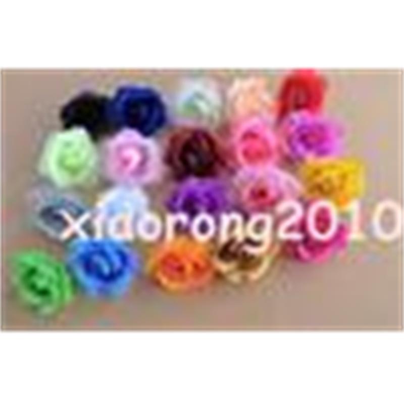 Más colores para las mejores ventas de 100 Unids Flores artificiales Seda Camelia Rosa Peony Flower Heads 7--8cm 20 colores disponibles U Elegir color