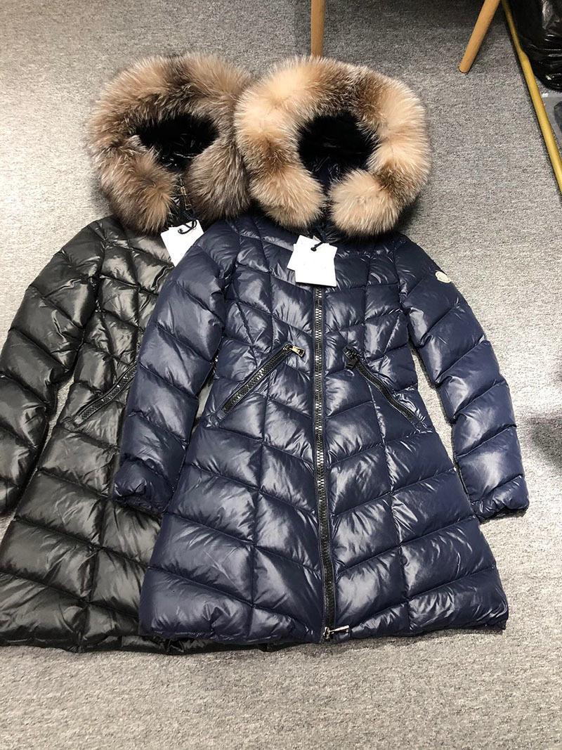 Tasarımcı Monclair Bayan Faux Kürk Kış Aşağı Ceket Rüzgarlık Giysileri Kirpi Moncle Ceketler Parkas Bayanlar Doudoune Femme Açık Mont