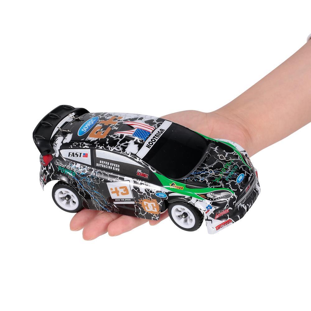 WLTOYS K989 1/28 2.4G 30 км / ч Высокоскоростная 4WD Race RC Racing Drift Car Пульт дистанционного управления Игрушка Детский Подарок 201218