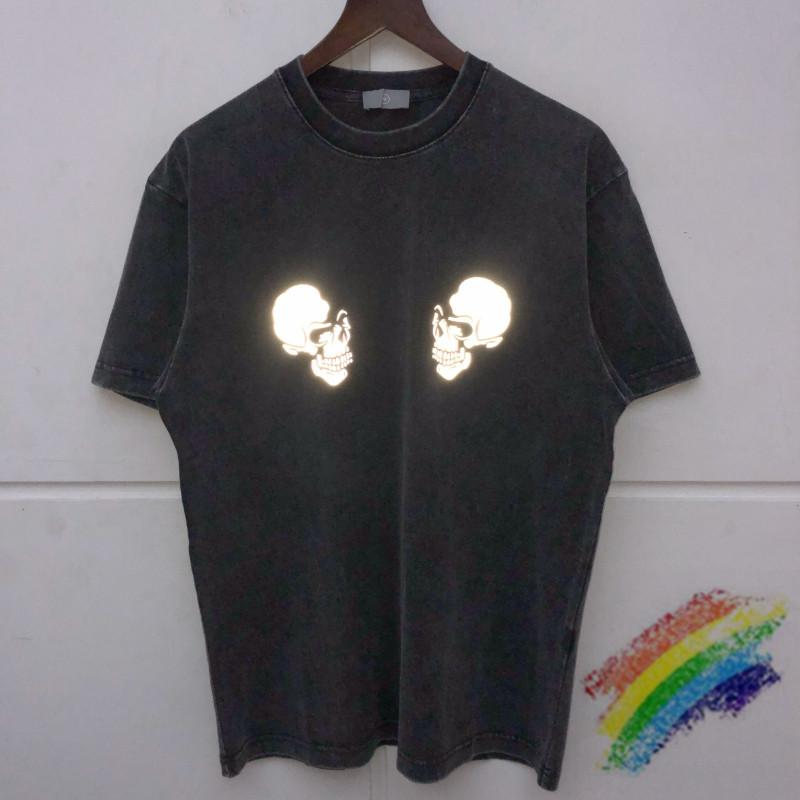 Reflective T shirt Men Women Unisex Top Tees T-shirts 2021ss