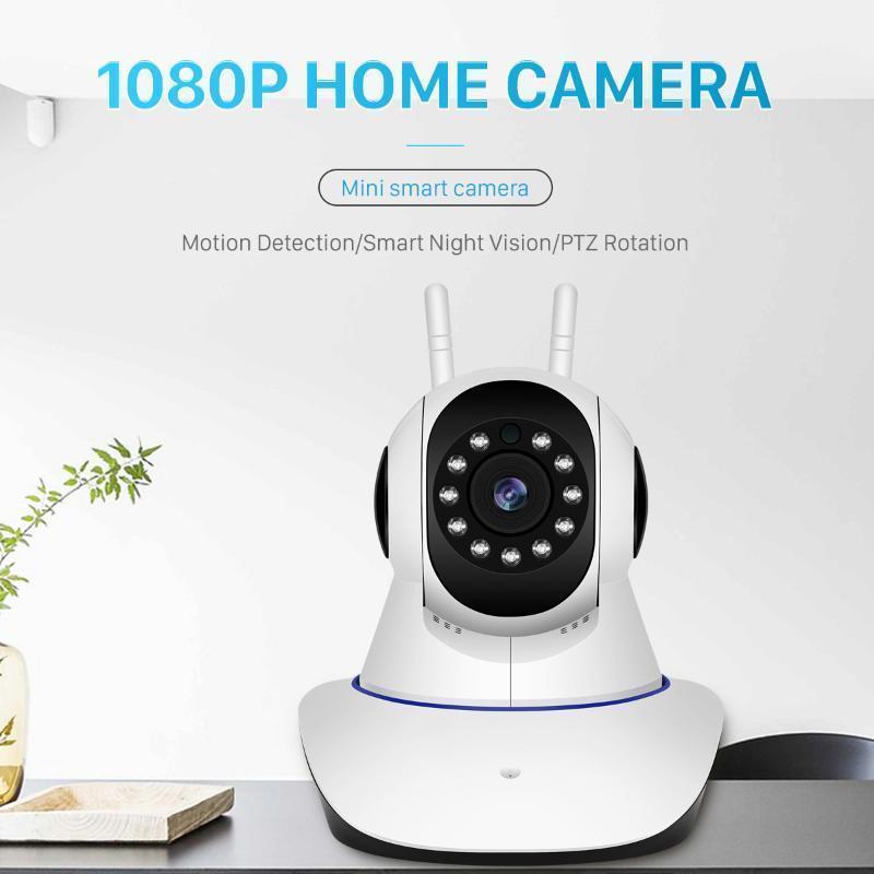 Vision Baby Monitor HD 1080p WiFi Wireless Home Security Home Caméra IP Caméra de sécurité Caméra de surveillance CCTV 15M IR Night1
