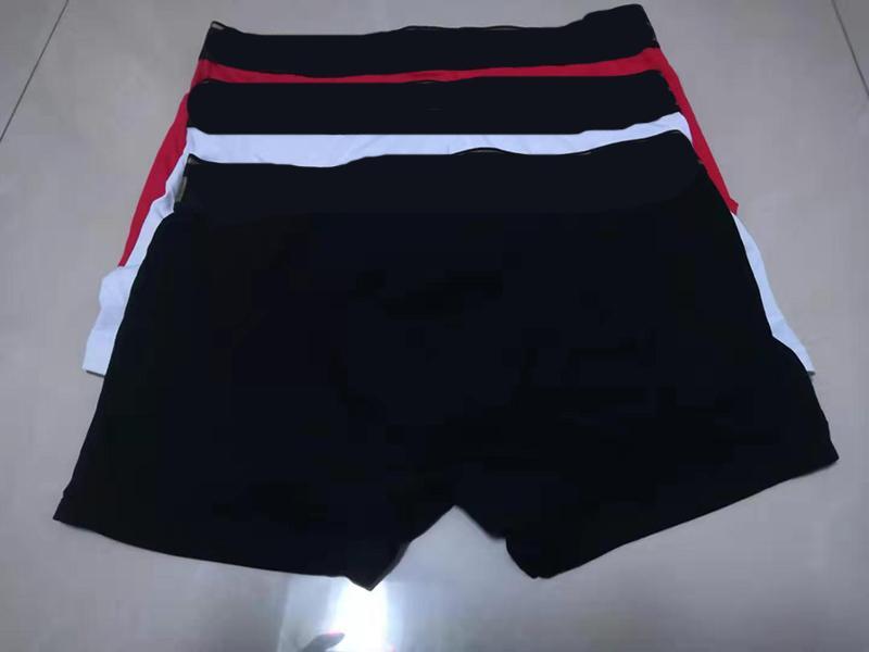 Hommes Boxers Sous-vêtements Gay Sexy Stepants Pure Couleur Pure Couleur Soft Soft Coton Sous-vêtement Boxershort Cueca Masculina M-XXL