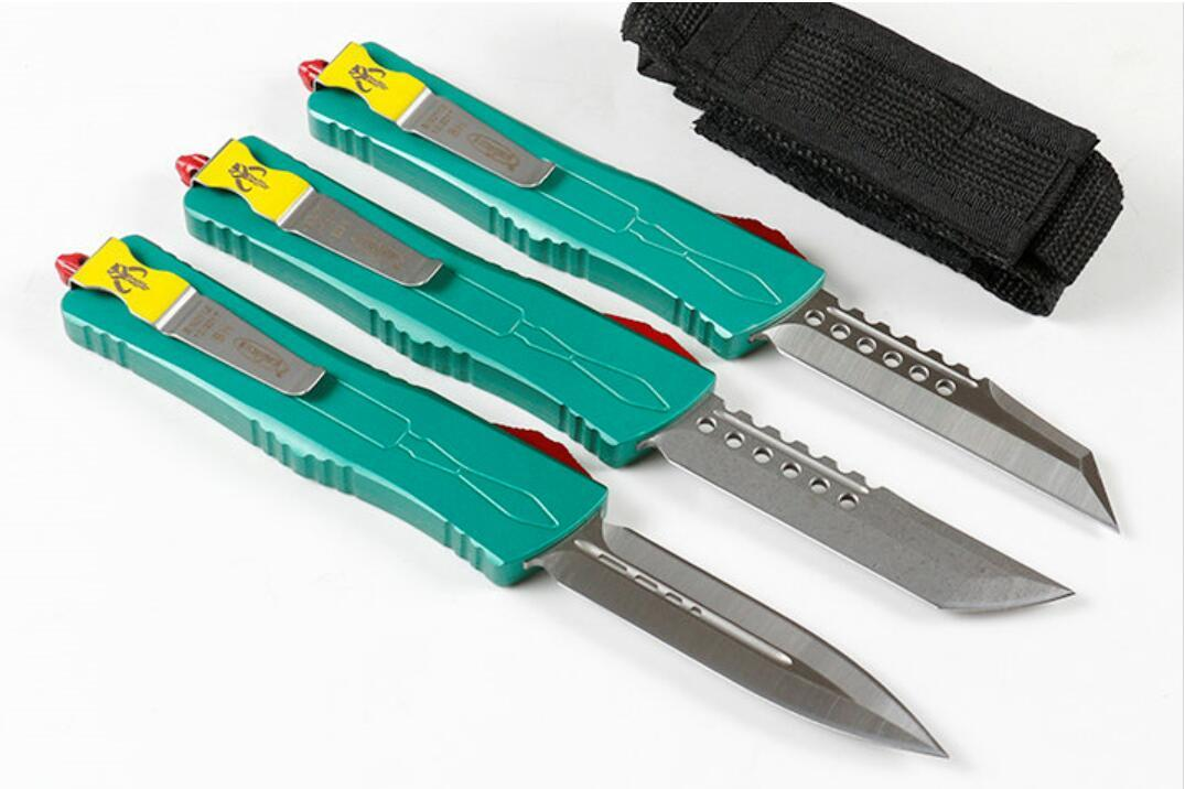 Micro technology A10 Dragon automatic ejecting knife Auto Pop-Up knife outdoor camping EDC tool BM 3310 3300 3400 4600 UT85 UT87