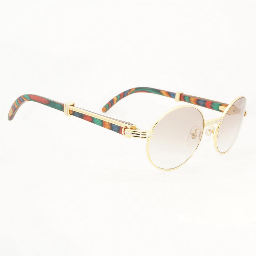 Legno da prescrizione Carter Occhiali da sole di lusso Eyewear Fill Frame Summer Clear Uomo Bicchieri per accessori EeuPx