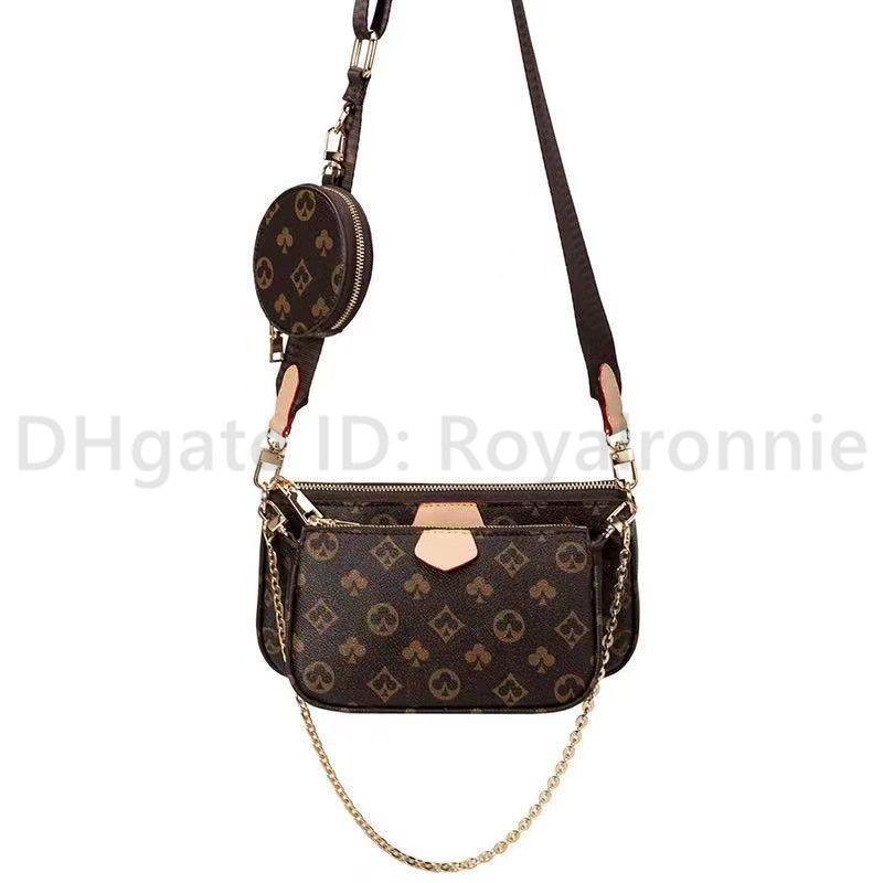 2021 Mulheres Luxurys Designers Crossbody Bags Bolsas De Couro Mulheres Bolsas + Carteira + Saco Sacos De Ombro Shopping Tote Bolsa de Tassel