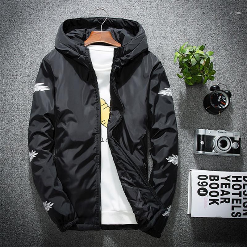 2019 New Spring Jacket Personalità Uomo Giacca di moda Plus Fertilizer XL Cappotto Sezione sottile Trend Commercio all'ingrosso1