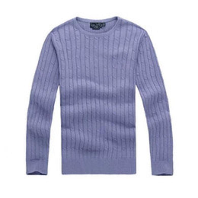 Livraison gratuite Haute Qualité Myrville Polo Brand Sweaters torsadés pour hommes et femmes en coton tricoté pulls pull-shirts Polo T-shirts pour