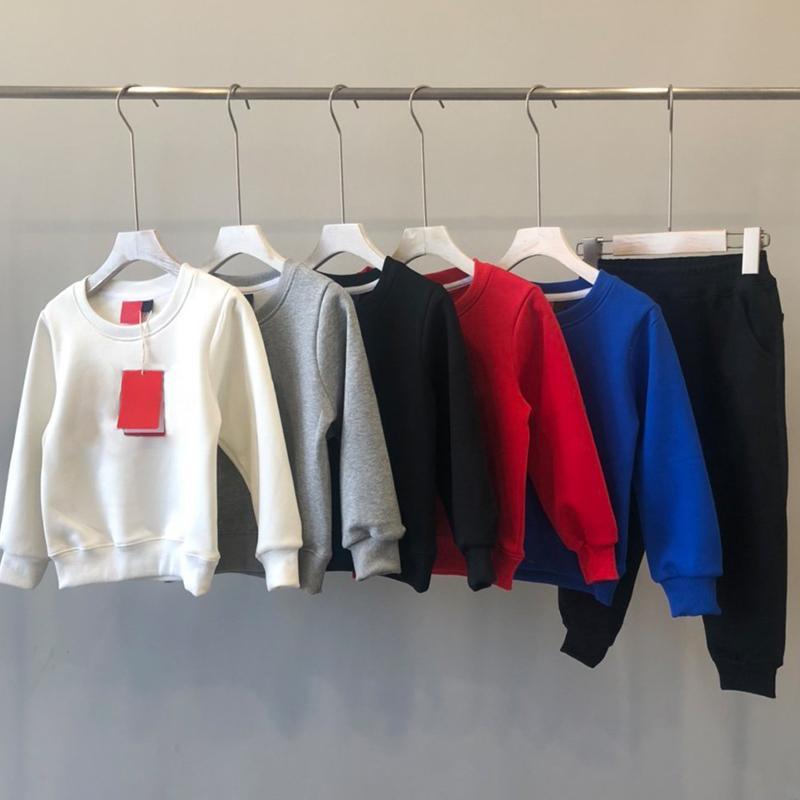طفلة بوي الاطفال الكرتون الرياضية الملابس مجموعة هوديي معطف قمم السراويل 2 قطع sweatsuit طفلة الربيع الخريف outfitstracksuit دعوى f3yi