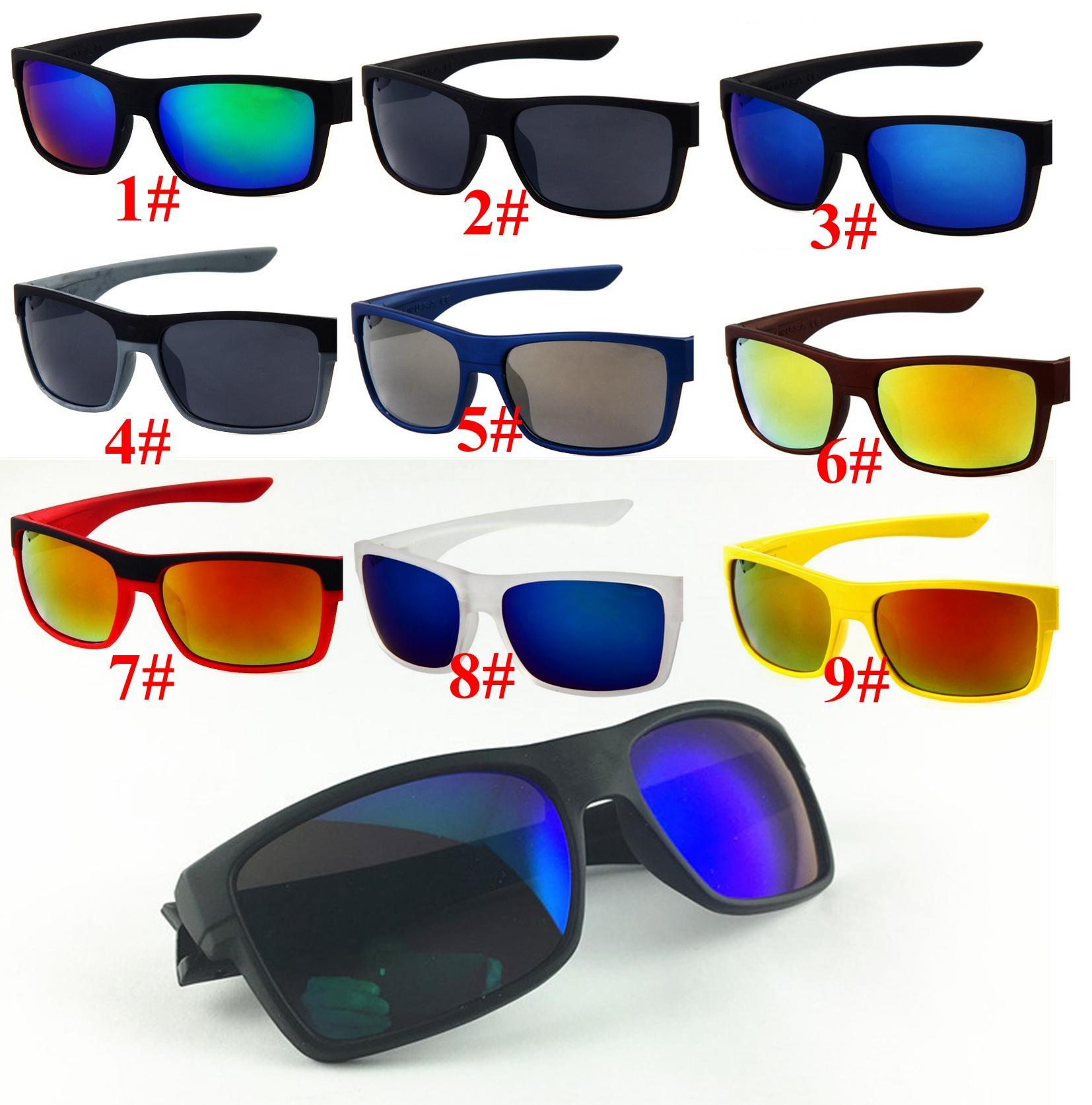 10 pcs verão marca quente homens moda 9 cores dirigindo óculos de sol UV400 lente de moda esportes ao ar livre óculos de sol 1079 design óculos de sol oculos