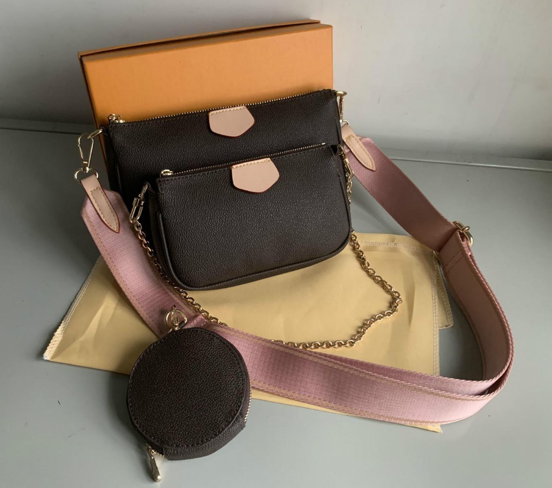 Vendita 3 pezzi Set High Qulity Designer Designer Womens Borse Multi Pochette Accessori Borsa a tracolla Borsa a tracolla Borsa a tracolla Borsa a tracolla Borsa a tracolla
