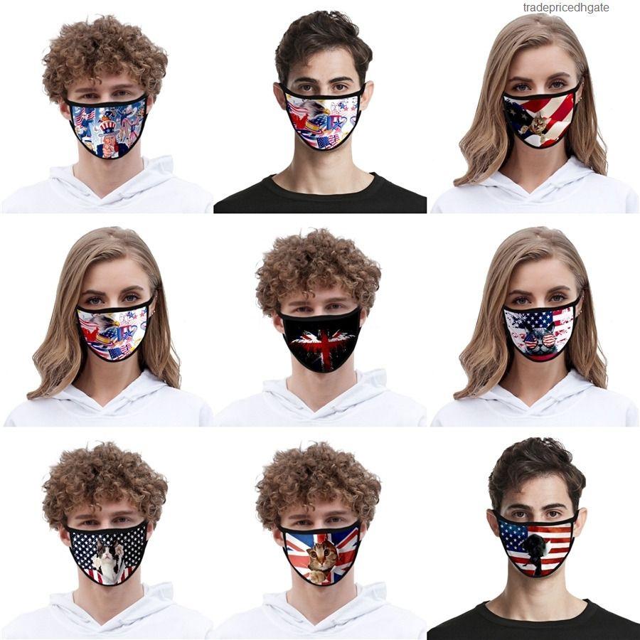 Kids máscara de poeira à prova de poeira MASCHERINE FACE de algodão lindo navio rápido adultos anime desenhos animados kpop designer máscaras pm2.5 máscaras # AQ125
