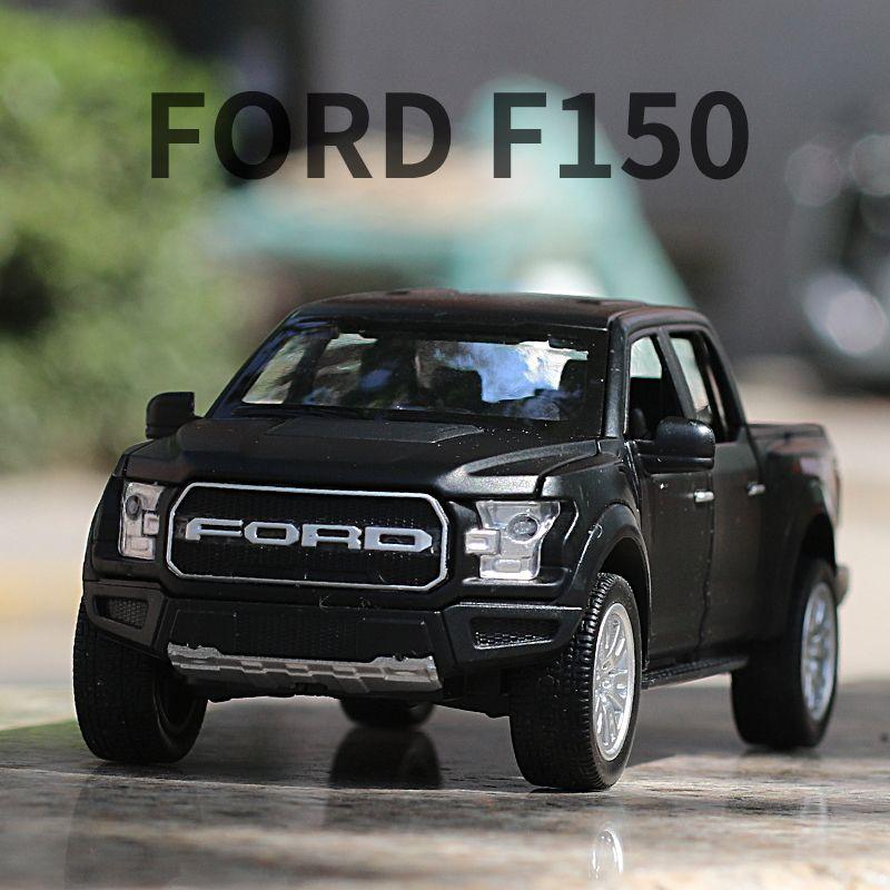 1: 32 Ford Raptor F150 pickup alloy model off road vehicle simulation boy children's toy car