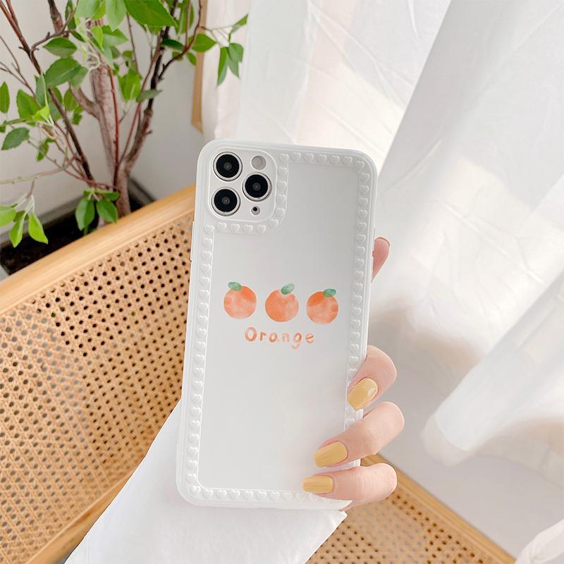Soft TPU задняя крышка для iPhone 11 Pro Max X XS MAX XR 7 8 6S 6 PLUS SE 2020 Телефон Чехол Оранжевый