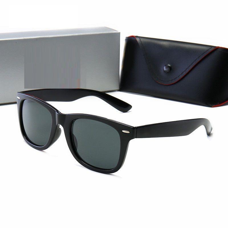 Sonnenbrille Mode Sonnenbrille Top-Qualität Sonnenbrille für Mannfrau Polarisierte UV400-Linsen Ledertaschen-Tuch-Box-Zubehör, alles!