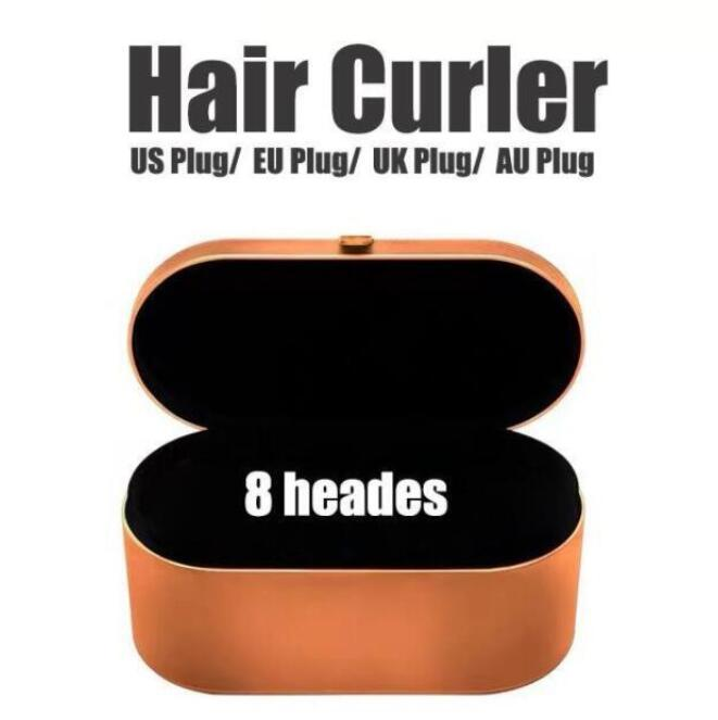 Hair Curler Multi-function Hair Styling Device Automatic Curling Iron 8 Head Gift Box Hottest 24 Hours Fast Shipping 8 Heads Mult